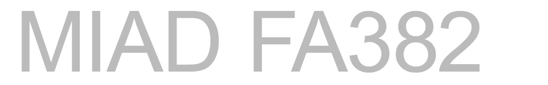 MIAD-FA382