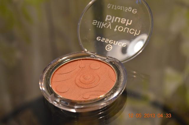 essence silky touch blush #40 Natural Beauty, bronzer, blush, essence