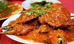 Resep Praktis dan mudah membuat masakan khas singapura chili crab enak, lezat