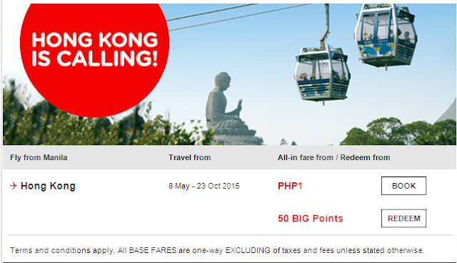 Air Asia Airlines: Good Luck, Pacman! Base fare from PHP399