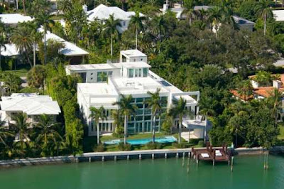 Lil Wayne's house on Miami Beach La Gorce Island
