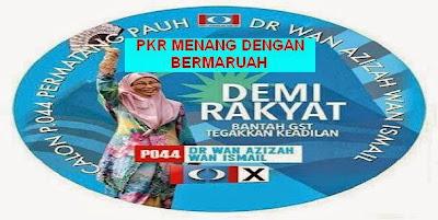 PRK Permatang Pauh Umno Bn Cipta Sejarah Dengan Kekalahan Tidak Bermaruah