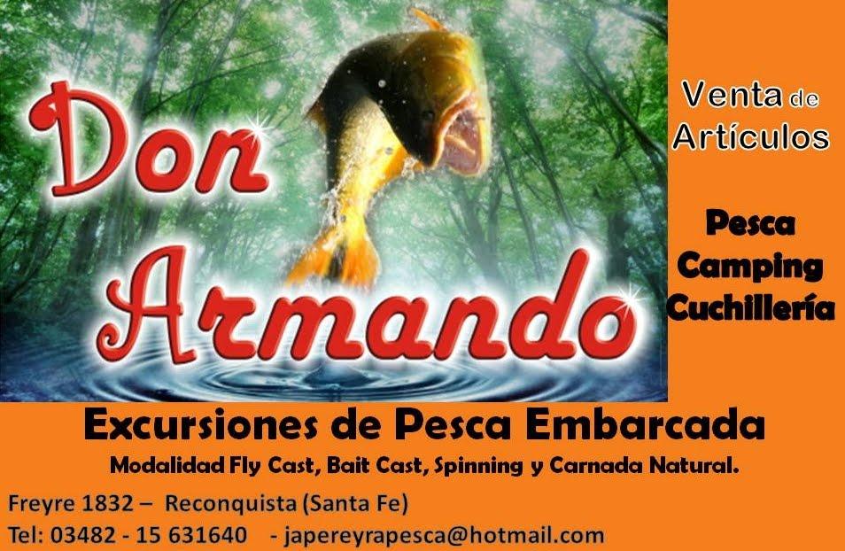 Don Armando Pesca de Javier Pereyra