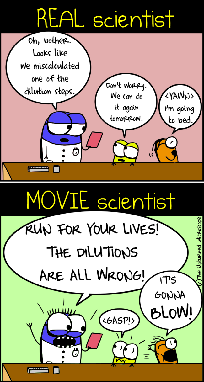 15 hilarious cartoons about movie science vs real science