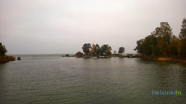 fog in Pihlajasaari