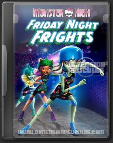 Monster High Friday Night Frights (DVDRip Inglés Subtitulada)
