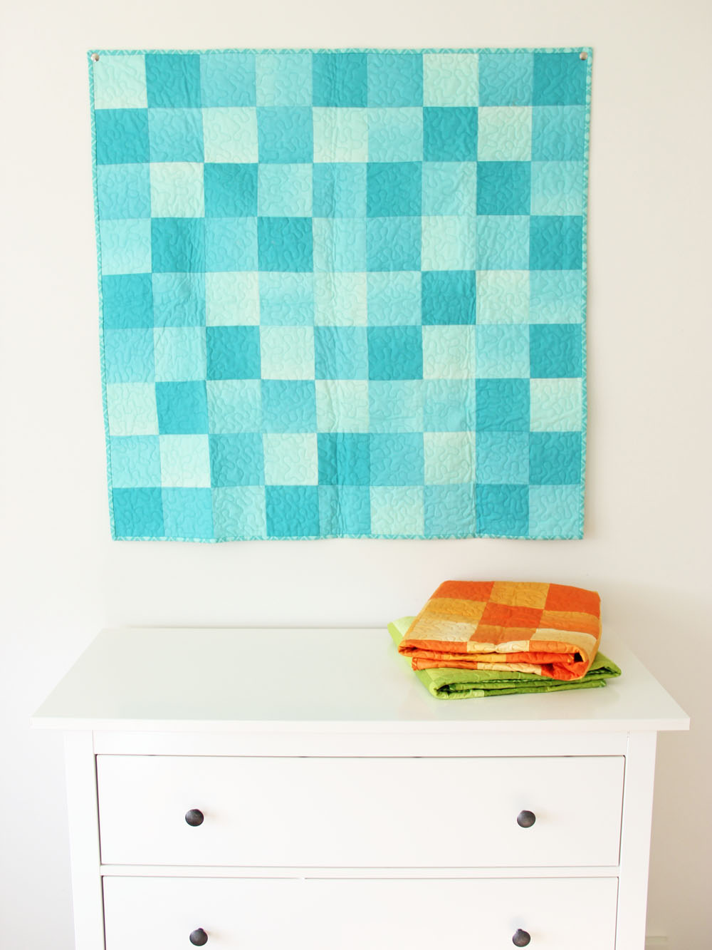 V And Co V And Co How To Simply Color Ombre Baby Quilt