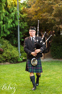 Neil Hubbard, Bagpiper, Robinswood House