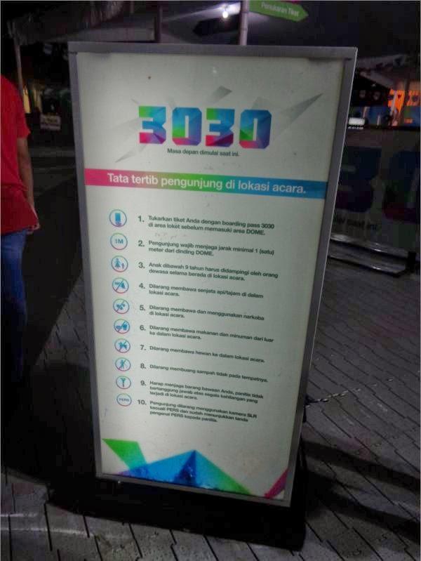 aturan main 3030