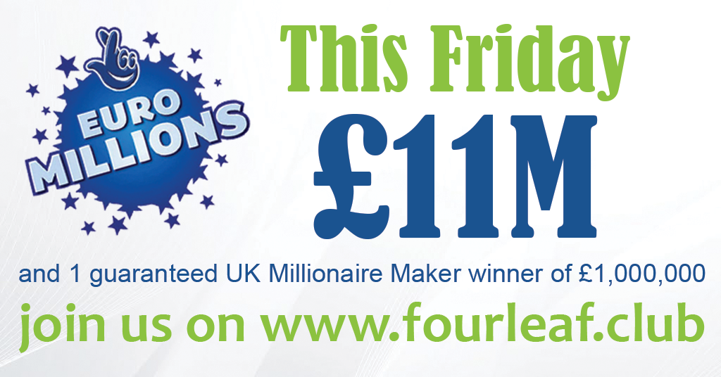 This Friday's jackpot is £11,000,000