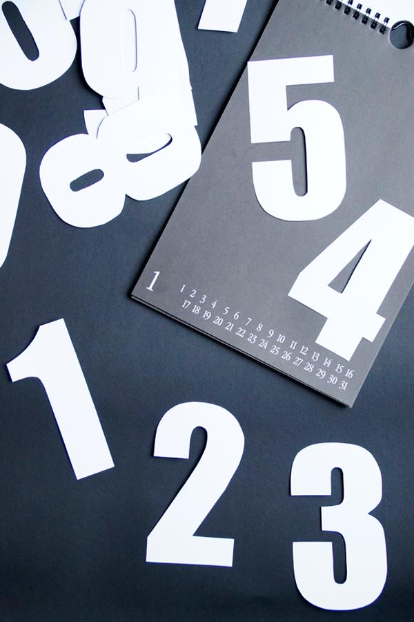 DIY Zahlenkalender basteln, Tageskalender selber machen, Bastelkalender Blog Spoon and Key
