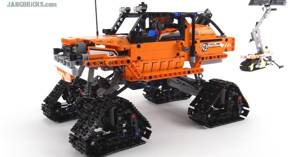 lego technic tracked pickup truck 42038 alternate build. Black Bedroom Furniture Sets. Home Design Ideas