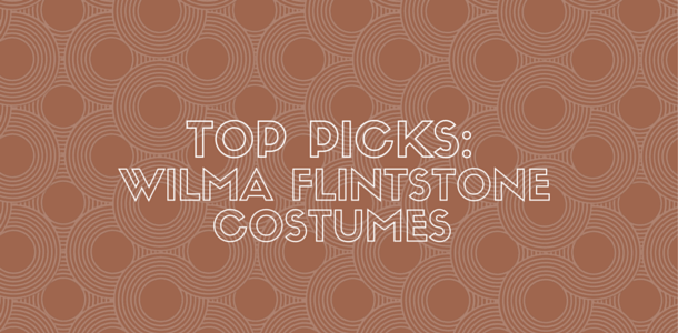 Wilma Flintstone Costume for Women and Kids