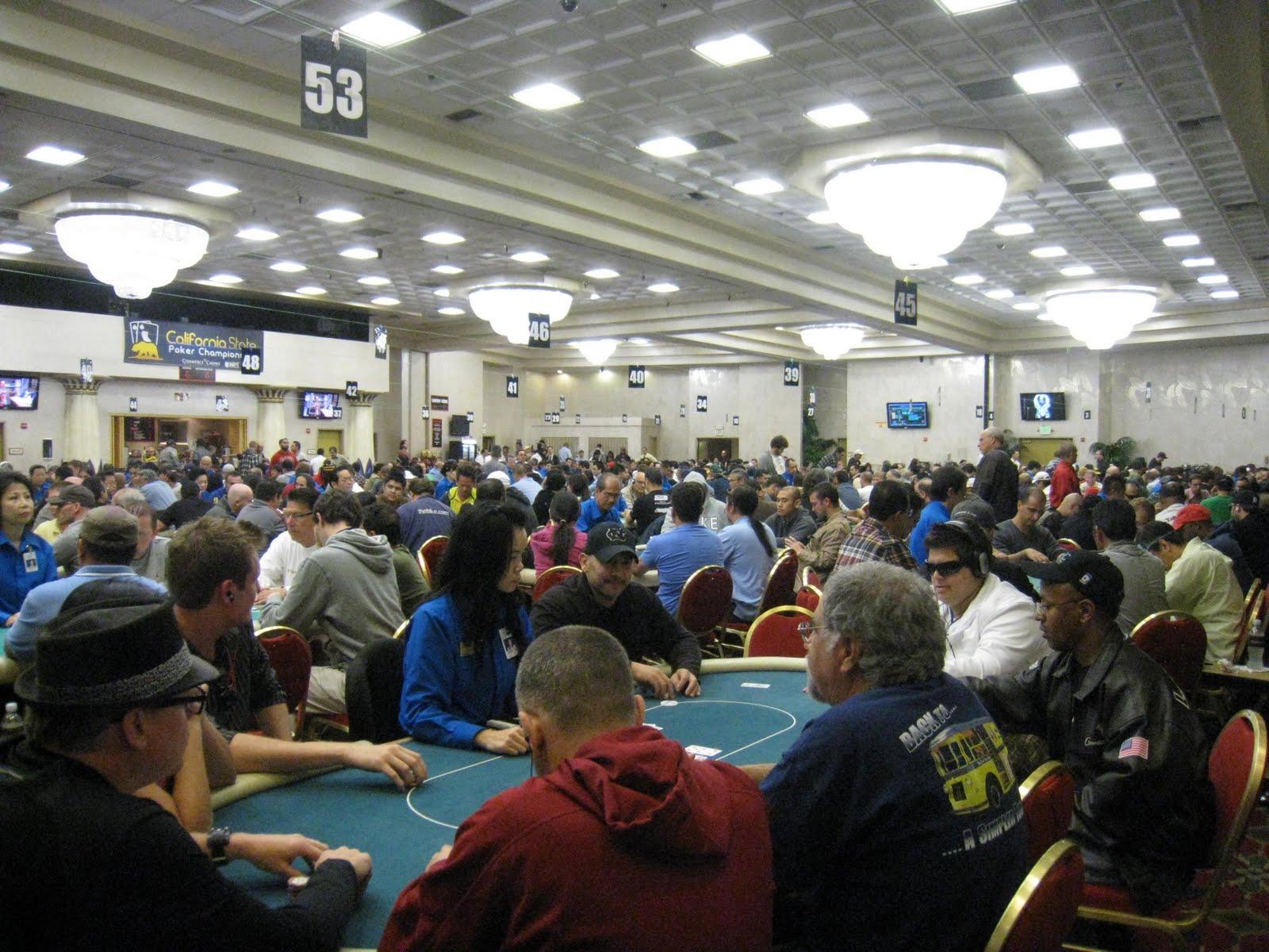 Commerce casino tournament