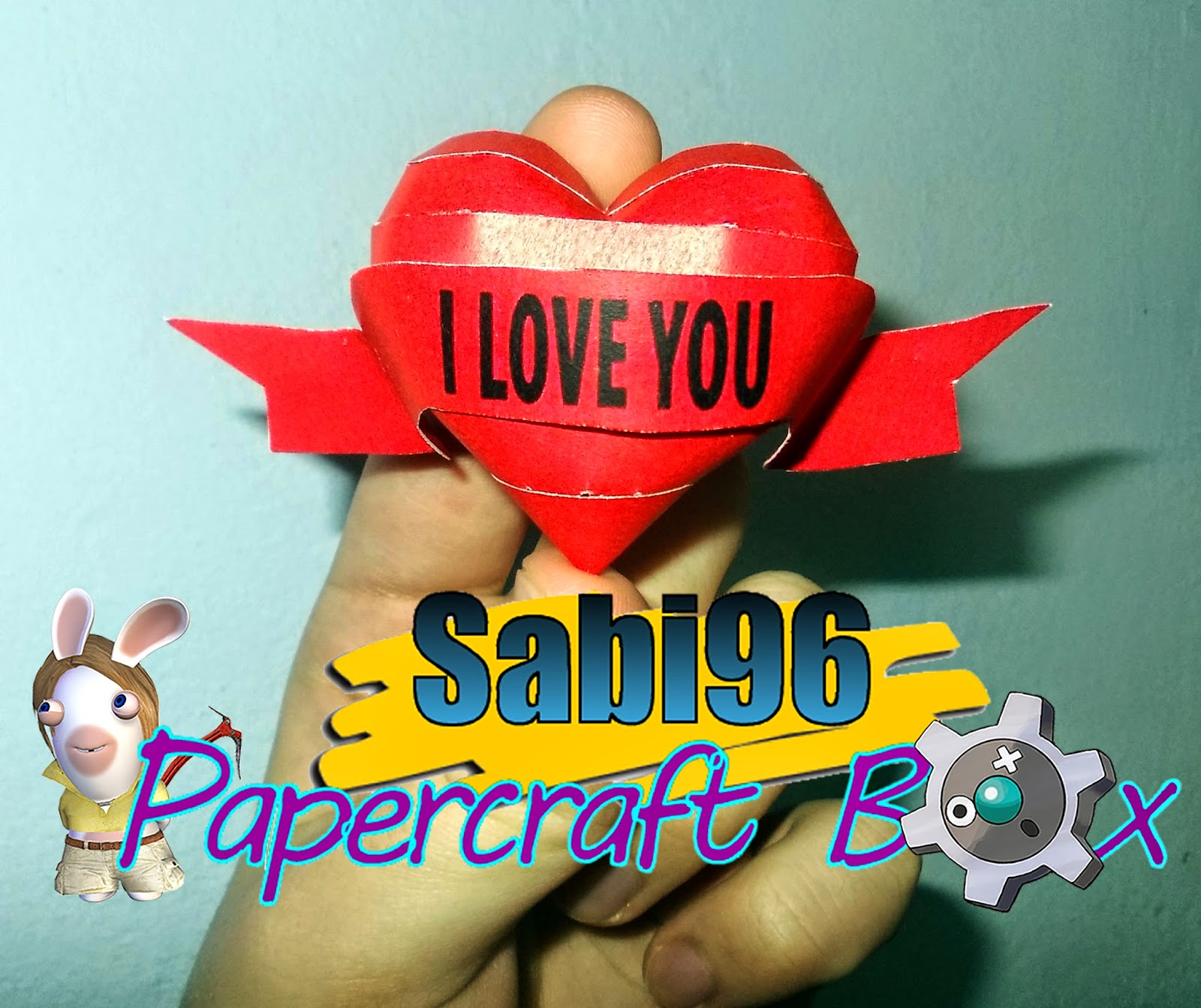 Valentine's Day Heart Papercraft