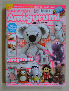 Front cover of Total Crochet Amigurumi Made Easy magazine, No. 3 issue