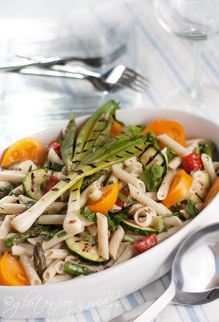 Karina's Grilled Vegetable Pasta Salad