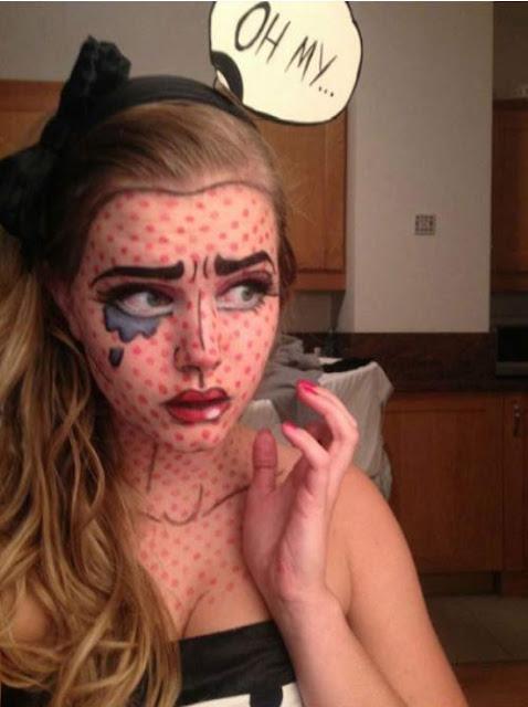 Disfraz creativo: Comic Girl