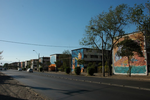 street art santiago de chile san miguel museo abierto arte callejero