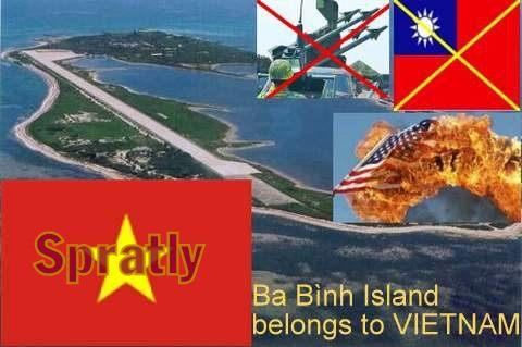 Ba Binh Island Vietnam