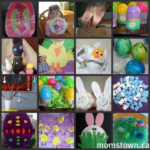 Easter Arts and Crafts Ideas