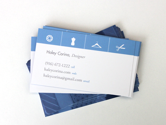GotPrint blue business cards designer and craftsmaker