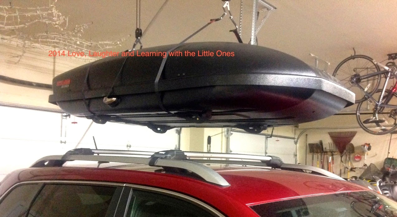 Love, Laughter And Learning With The Little Ones: DIY Roof Mount Cargo Box  Lift