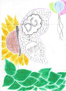 Aniversário de três anos do blog Desenho DG (desenho)
