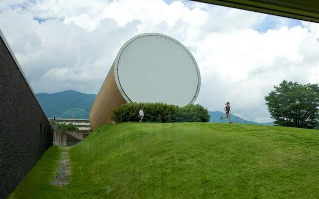 奈義町現代美術館 太陽
