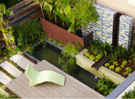 Siepe Giardino idee : Spero di riuscire ad adornarlo con siepe, piante in vaso, tavolino e ...