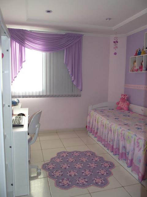 Maria Amélia Crochê Tapete lilás e rosa ~ Tapete Rosa Quarto Infantil