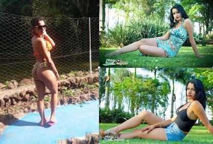 A modelo Daniele Souza fala das dificuldades no início da carreira