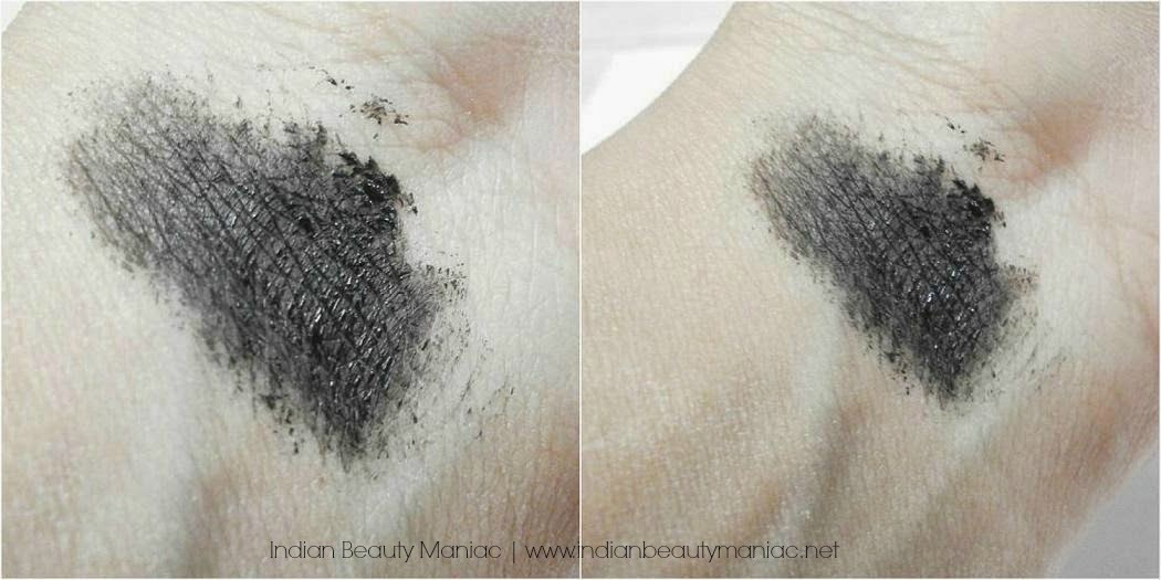 Kryolan Color Intensifier Mascara in Black Swatch