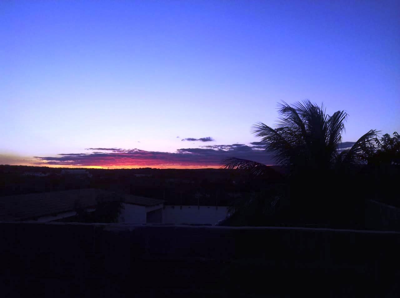 Por do sol em Seridó