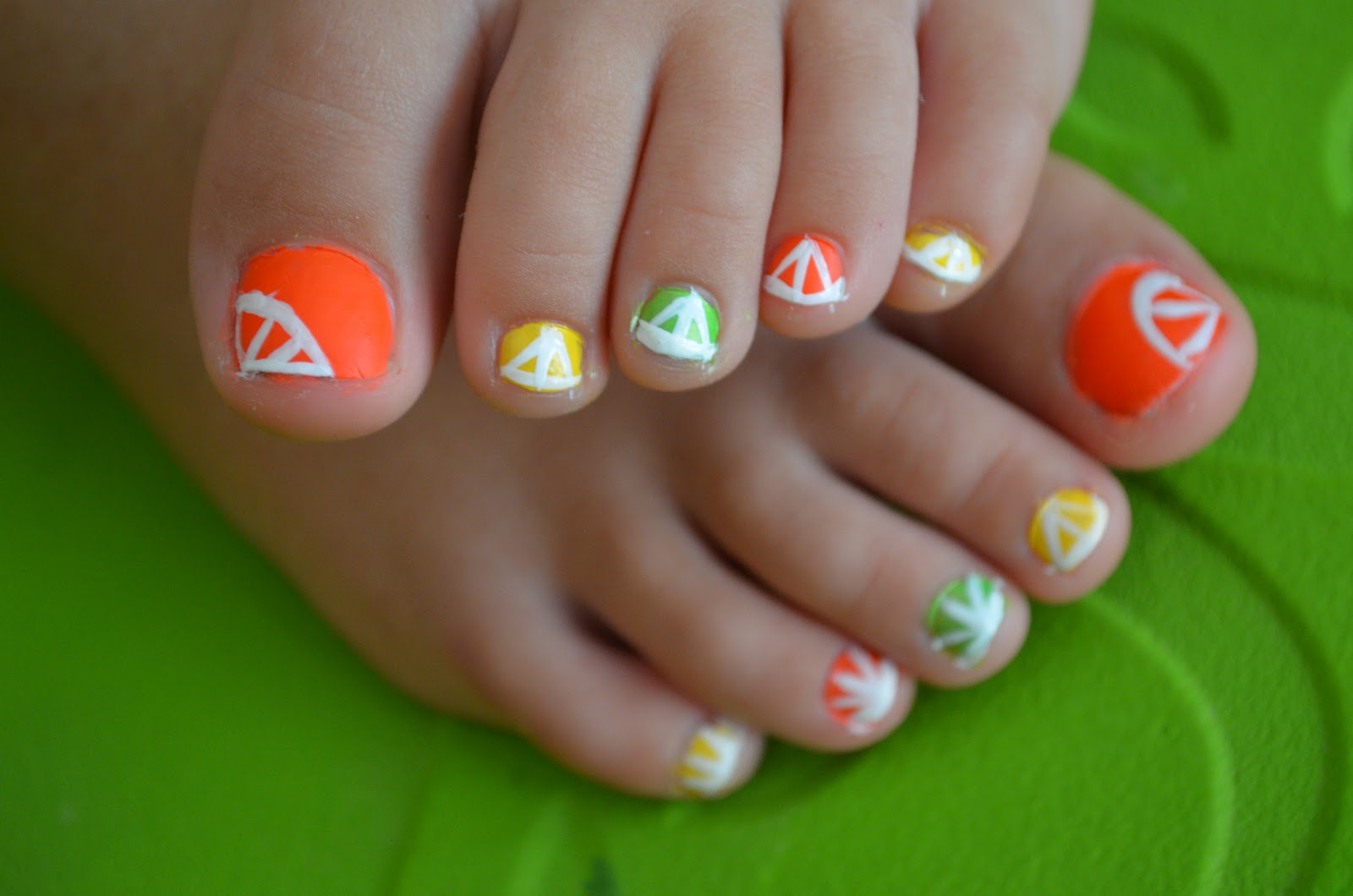 Citrus nails tutorial citrus nails tutorial prinsesfo Gallery