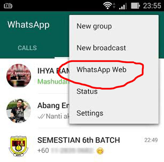 Cara Menggunakan WhatsApp Komputer