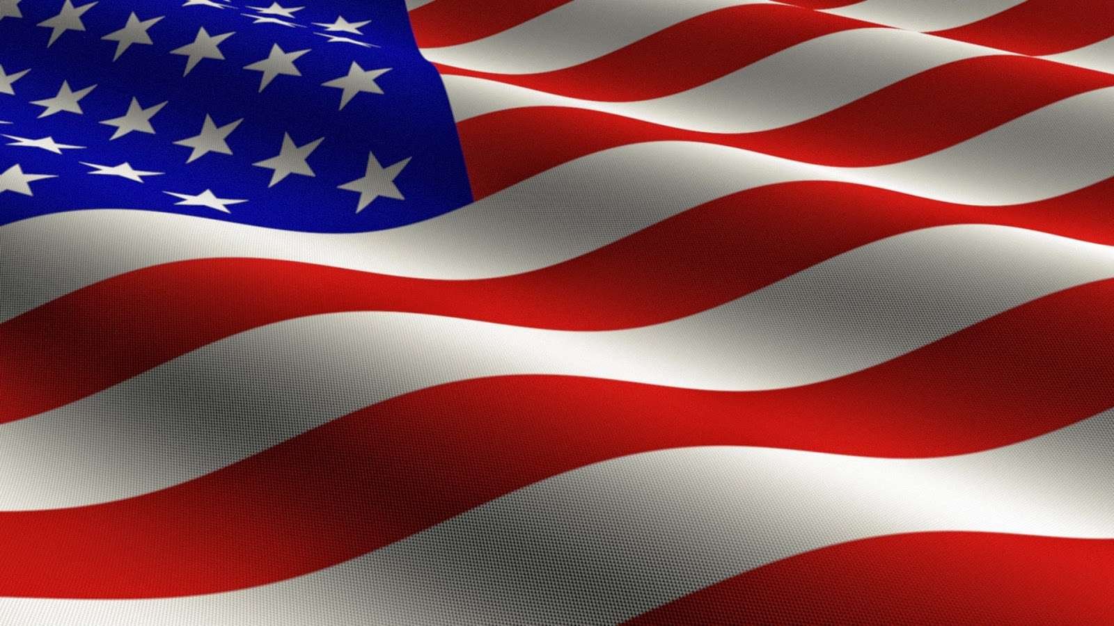 Beautiful Rippled USA American Flag Images Wallpapers for 4th of July