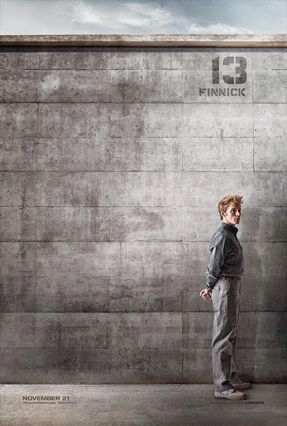 Poster viral Distrito 13 para Juegos del Hambre: Sinsajo Parte 1 - Finnick