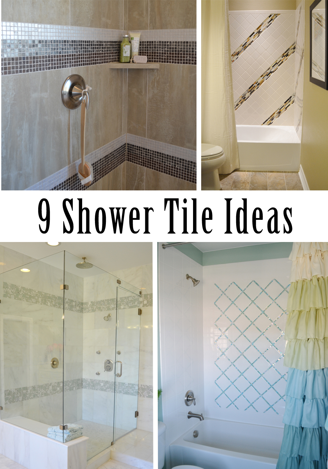 Magenta and lime: 9 ways to tile a shower