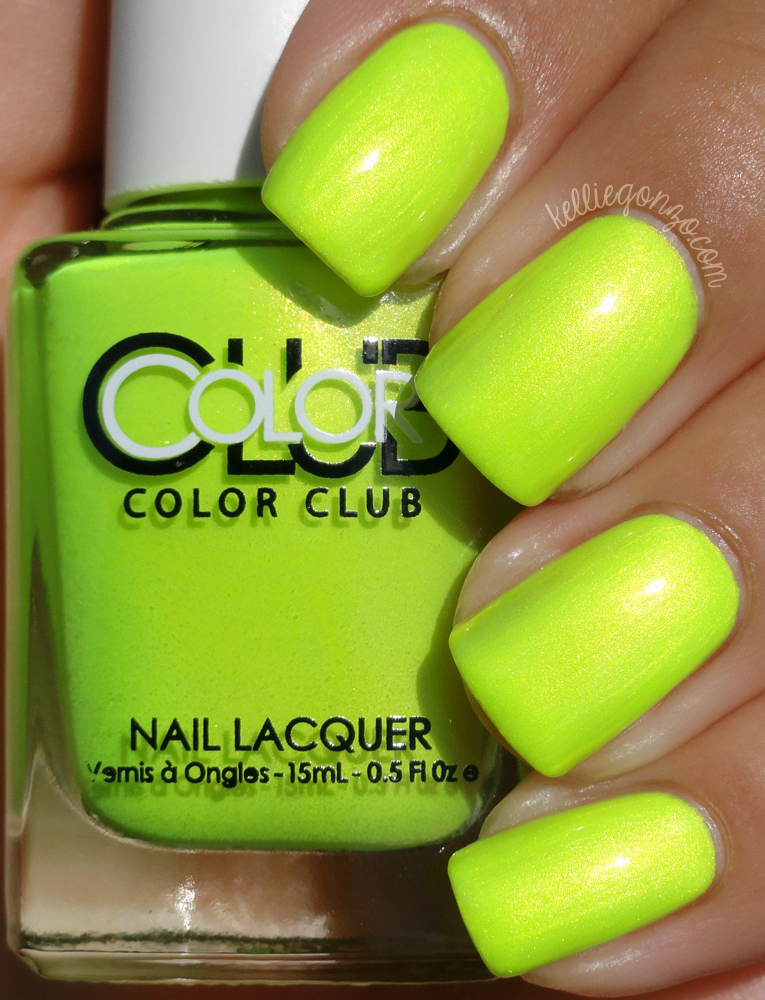 Color Club - Not So Mellow Yellow // kelliegonzo.com
