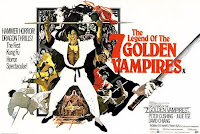 The Legend Of The Seven Golden Vampires poster