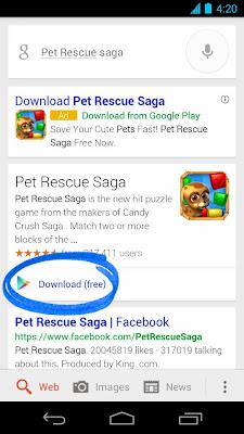 download button screenshot