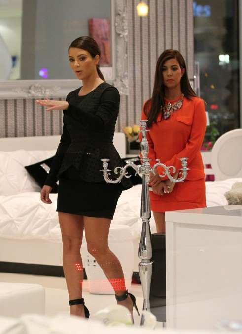 Daily celebrity style september 2012 for Where do the kardashians shop for furniture