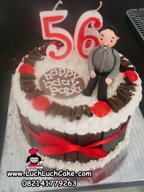 Kue Tart Ulang Tahun Untuk PapaDaerah Surabaya - Sidoarjo