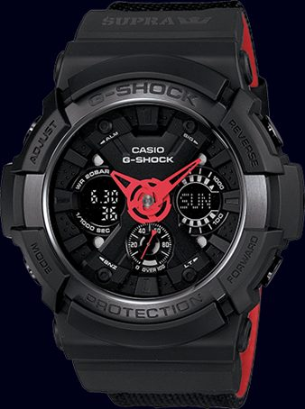 Limited Edition Casio G-Shock Supra GA200SPR-1A