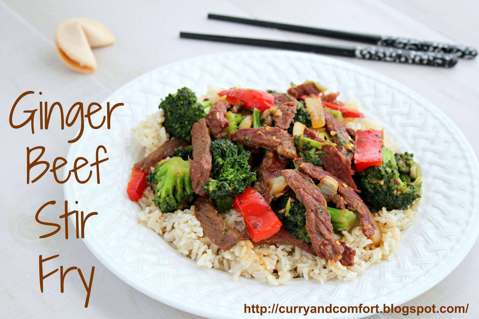 Ginger Beef and Broccoli Stir Fry ~ TacoBellCantinaSteak