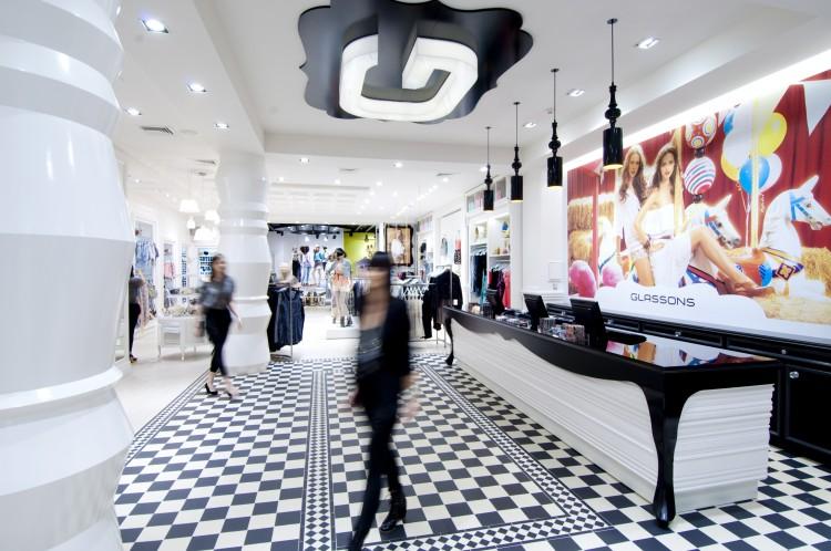 Retail Interior Design | Glassons flagship store | Newmarket ...