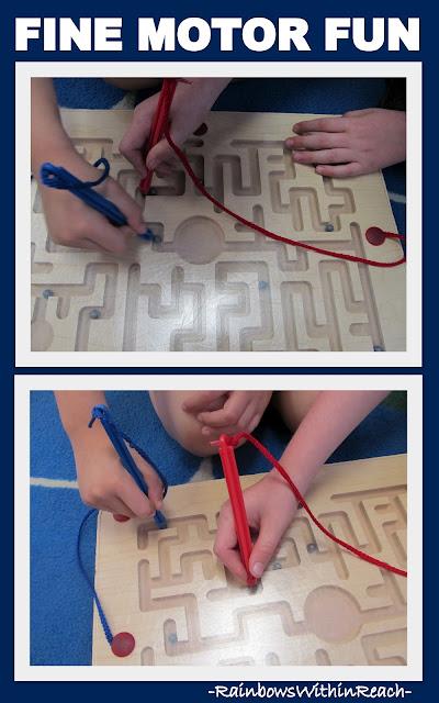 photo of: Fine Motor Maze Game