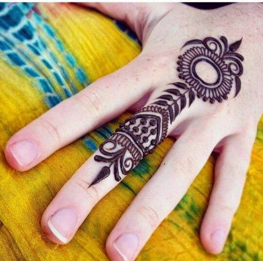 Mehndi Design With Fingers : Bridal mehndi designs best simple henna for