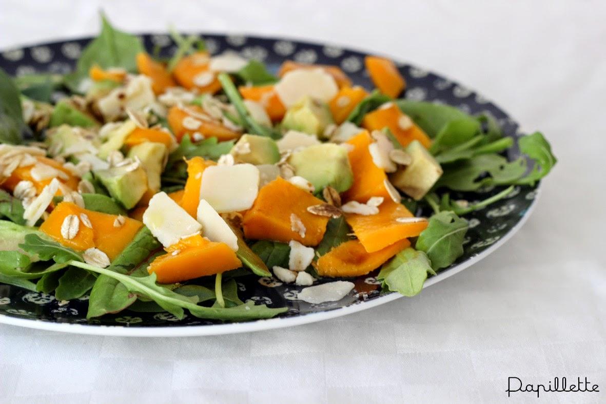 salade avocat mangue